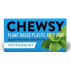Peppermint Biodegradable Chewing Gum 12x15g