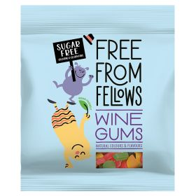 Free From Fellows Wine Gums 10x100g