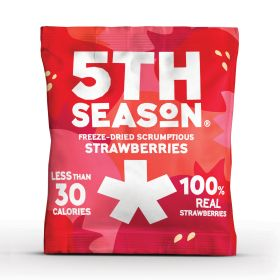 Freeze-Dried Strawberry Bites 6x8g