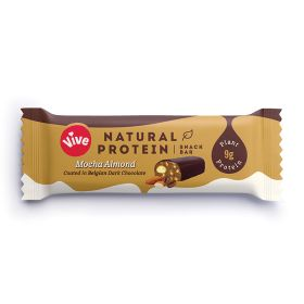 Mocha Almond Dark Chocolate Protein Snack Bar 12x49g