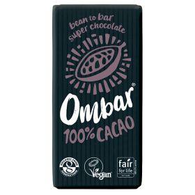 100% Cacao Raw Chocolate - Organic 10x35g