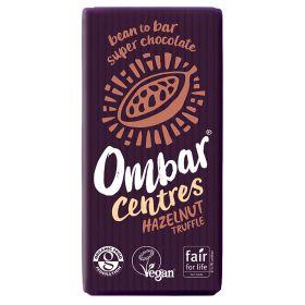 Hazelnut Centre Raw Chocolate - Organic 10x35g
