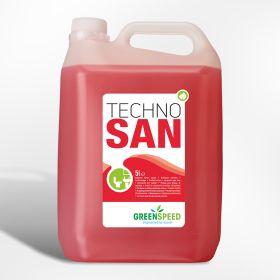 Techno San - Acid Cleaner -pH4 4x5lt