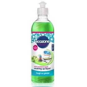 Washing Up Liquid - Cool Cucumber & Apple 12x500ml