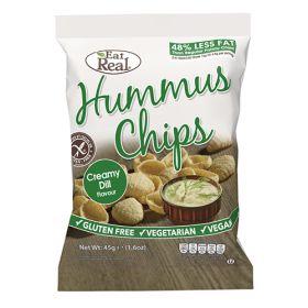 Hummus Chips Creamy Dill 12x45g