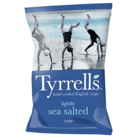 Lightly Sea Salted Potato Chips 12x150g