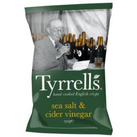 Sea Salt & Cider Vinegar Potato Chips 12x150g