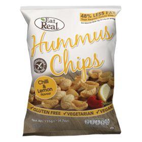Hummus Chips Chilli & Lemon 10x135g