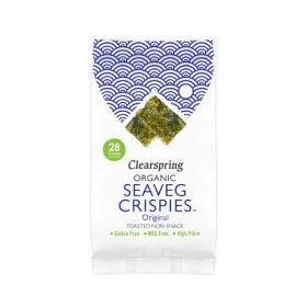 Seaveg Crispies Original - Organic 16x4g