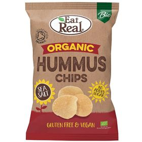 Hummus Chips Sea Salt - Organic 10x100g