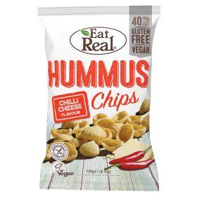 Hummus Chips Chilli Cheese 10x135g