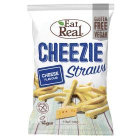 Veggie Straws with Vegan Cheese Flavour 10x113g