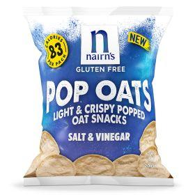 GF Popped Oat Chips Salt & Vinegar 14x20g