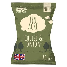 Cheese & Onion Hand Cooked Crisps 24x40g
