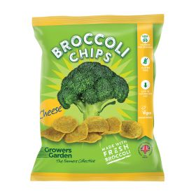 Fresh Broccoli Chips with Cheese 12x84g