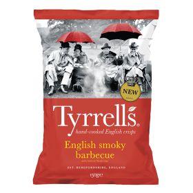 English Smoky Barbecue Potato Chips 8x150g