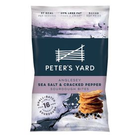 Anglesey Sea Salt & Cracked Pepper Sourdough Bites 8x90g
