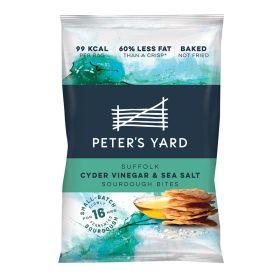 Suffolk Cyder Vinegar & Sea Salt Sourdough Bites 12x26g