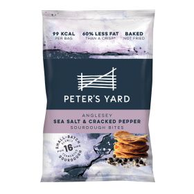 Anglesey Sea Salt & Cracked Pepper Sourdough Bites 12x26g