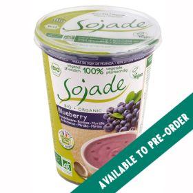 Blueberry Soya Yoghurt - Organic 6x400g