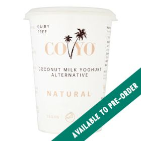 Coconut Milk Natural Yoghurt 6x400g