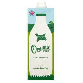UHT Semi Skimmed Milk - Organic 12x1lt