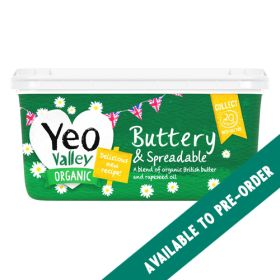 Spreadable Butter - Salted - Organic 8x500g