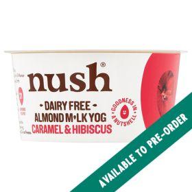 Almond Milk Caramel and Hibiscus Yoghurt 6x120g