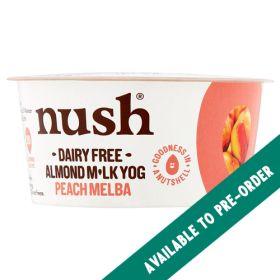 Almond Milk Peach Melba Yoghurt 6x120g