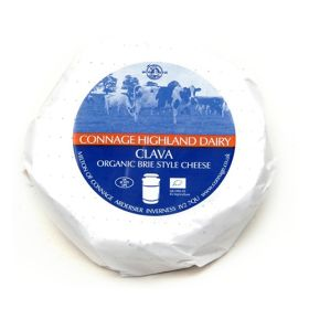 Clava Brie Style Cheese - Organic *£/kg 1xappr0.2kg