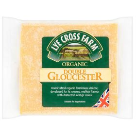Double Gloucester Cheese - Organic 10x245g