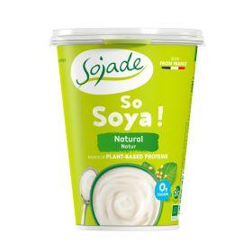 Natural Soya Yoghurt - Organic 6x400g