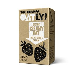 Oatly Cream - Organic 18x250ml