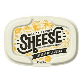 Cheddar Style Creamy Sheese 6x170g