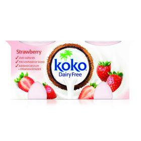 Strawberry Dairy Free Yoghurt 5x2x125g