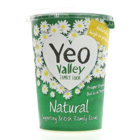 Natural Yoghurt - Organic 6x500g