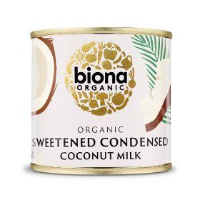 Sweetened Condensed Coconut Milk - Organic 8x210g