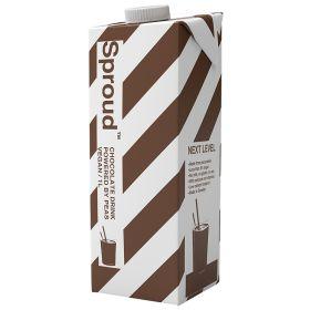 Sproud Chocolate Pea Milk 6x1lt