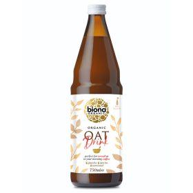Oat Drink Unsweetened (Bottle) - Organic 6x750ml