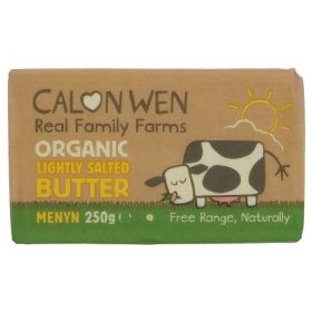 Lightly Salted Welsh Butter - Organic 20x250g