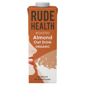 Roasted Almond and Oat Drink - Organic 6x1lt