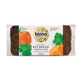Rye Bread with Pumpkin Seed - Organic 6x500g