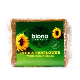 Rice & Sunflower Wholegrain Bread - Organic 6x500g