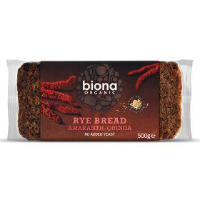 Rye Bread with Amaranth & Quinoa - Organic 6x500g