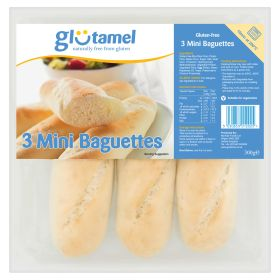 Part-Baked Baguettes - Gluten Free 4x(3x100g)