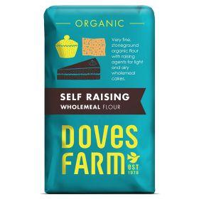 Wholemeal Self Raising - Organic- SG 5x1kg