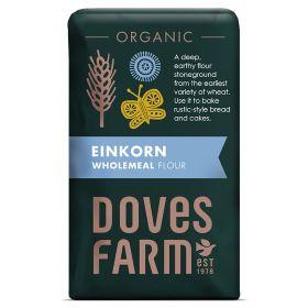 English Wholegrain Einkorn Flour - Organic 5x1kg