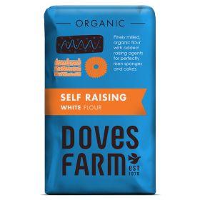 White Self Raising flour - Organic 5x1kg