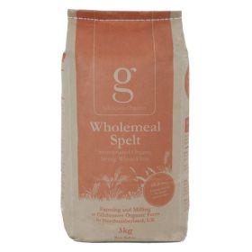 Wholemeal Spelt Flour SG - Organic 1x3kg