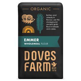 Emmer Wholemeal Flour - Organic 5x1kg